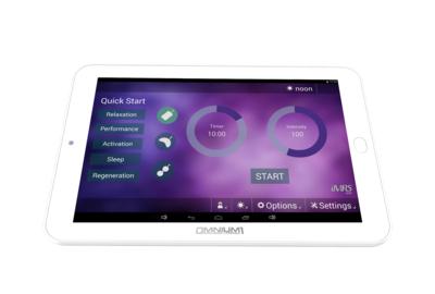 Tablette Android de l'Omnium1
